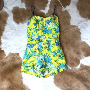 Vintage romper swimsuit